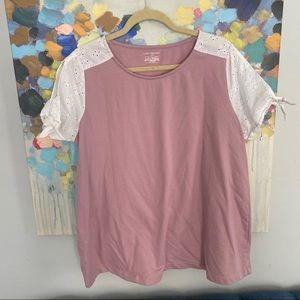 Lane Bryant Blush Blouse